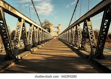 Waco Texas, Historic Suspension Bridge