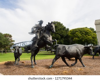 Waco, Texas USA - September 10, 2016: Waco Texas travel and tourism.