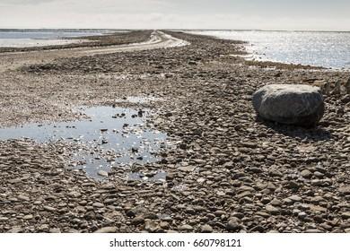 Wadden Sea (UNESCO) National Park, near Mando island, Jutland, North Sea, Denmark, Europe