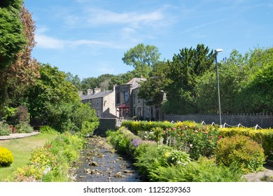 Waddington near Clitheroe, in the Ribble Valley, Lancashire. The village has some very pretty public gardens which are in the centre of the village.