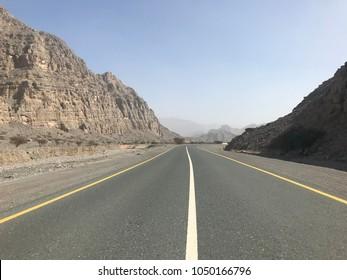 Wadi Bia Desert, Ras Al Khaimah United Arab Emirates, Jabel al Jais Area