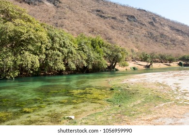 Wadi Dharbat or sometimes spelled Darbat, Salalah, Sultanate of Oman.