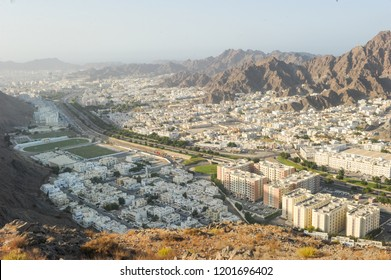 Wadi kabir city view, Muscat, Oman