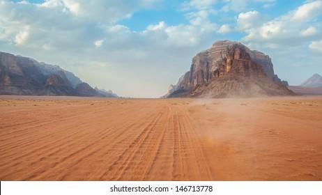 Wadi Rum desert, Jordan