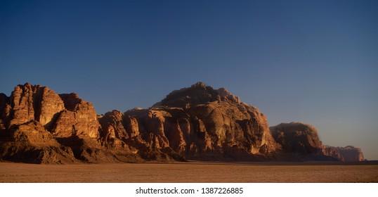 Wadi Rum Jordan Desert Evening