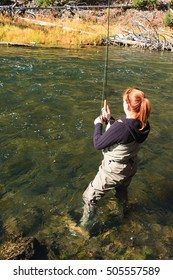 Wading In The Firehole