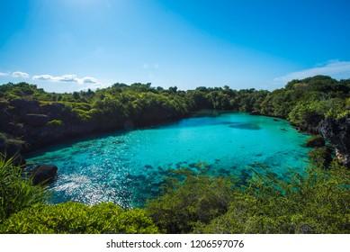 Waekuri Lagoon in Southwest Sumba. Located near Mandorak Beach. Just like a great hidden paradise in Sumba