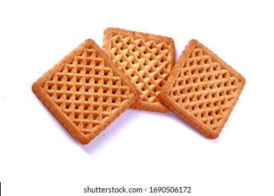 A wafer and biscuite and cream is a crisp, often sweet, very thin, flat, light and dry biscuit, often used to decorate ice cream, and also used as a garnish on some sweet dishes.