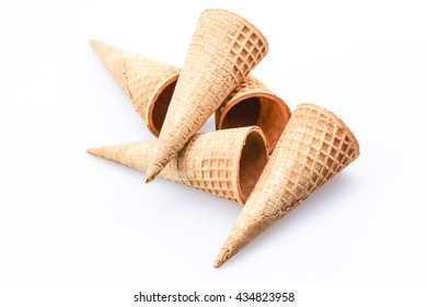 Wafer cup for ice-cream