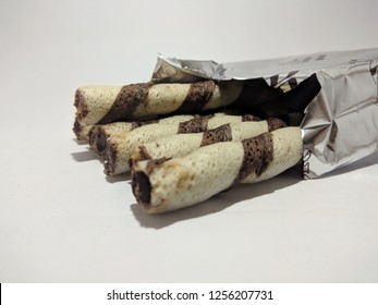 waffer stick with chocolate