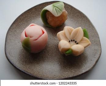 wagashi summer japan Japanese confectionery food season