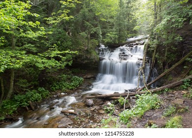 Wagner Falls in Michigans Upper Peninsula