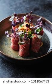 Wagyu beef tatami