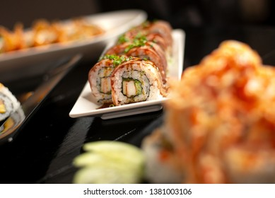 wagyu roll japanese delicious food