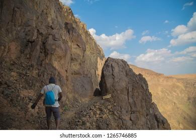 Wahba crater Saudi Arabia
