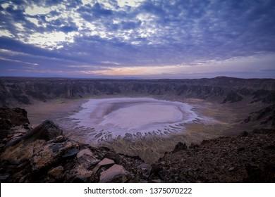 wahba crater, Saudi Arabia, volcanic crater