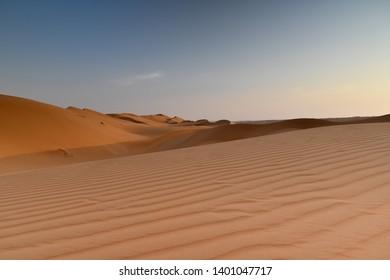 Wahiba Sands Desert Dunes Oman