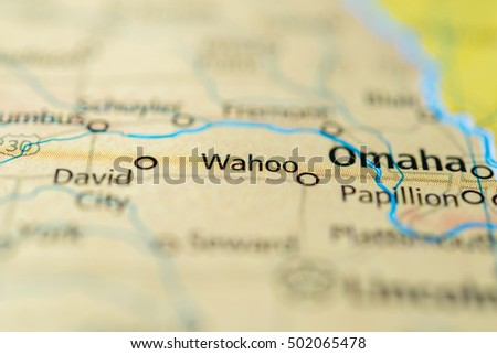 Wahoo Nebraska Usa Stock Photo Edit Now 502065478 Shutterstock