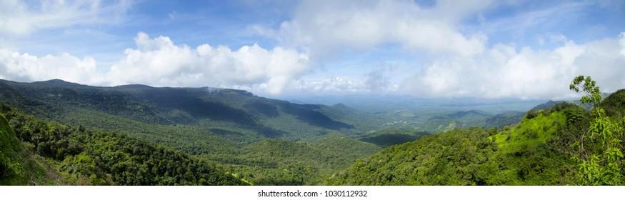 Wai to Mahableshwar road view