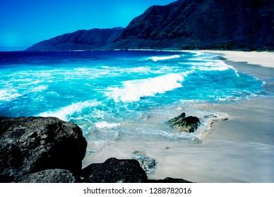 Waianae Coast, West Shore, Oahu, Hawaii, USA