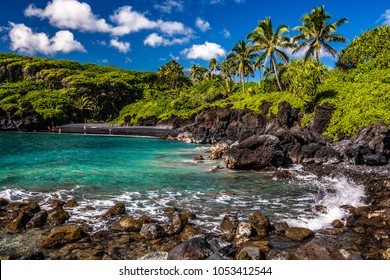 Wai'anapanapa State Park in Maui