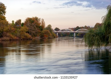 Waikato river near Fairfield Bridge, Hamilton