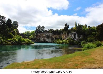 Waikato River - Taupo - New Zealand