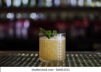 Waikiki Cocktail I On the Bar