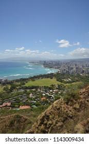 Waikiki from Diamondhead