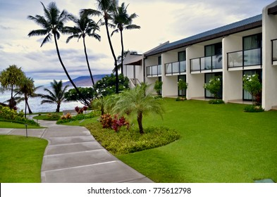 Wailea Beach Resort apartments,  Maui, Hawaii, USA. November 2017