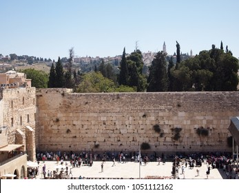 The Wailing Wall Jerusalem