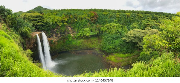 Wailua Falls, Kaua'i, Hawaii