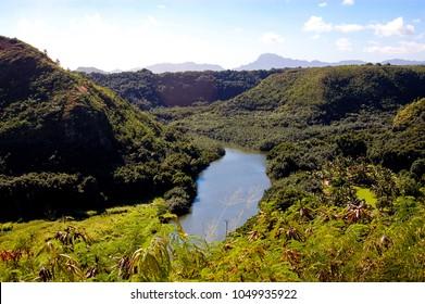 Wailua River in Kauai