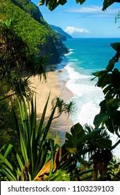 Wailua trail, Hawaii