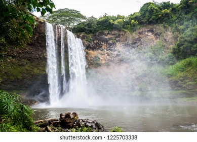 Wailua Waterfall in Kauai, Hawaii