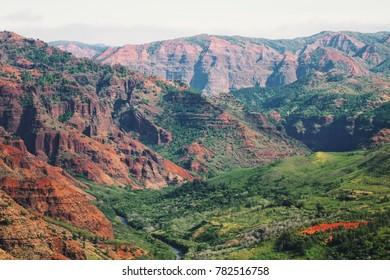 Waimea Canyon State Park Landscapes, travel image
