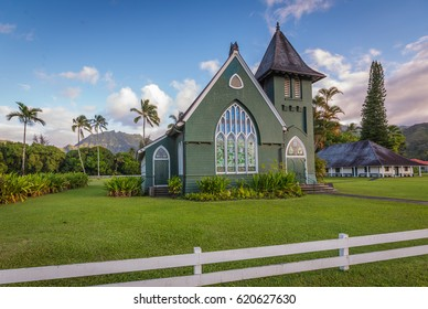 Wai`oli Hui`ia United Church of Christ in Hanalei, Kauai - Hawaii