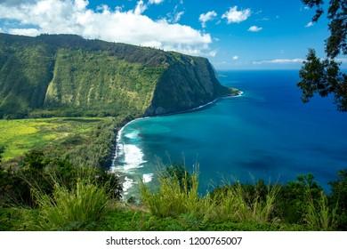 Waipio Valley Lookout,Big Island Hawaii