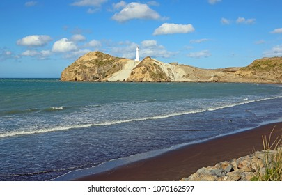Wairarapa Bay with Castlepoint  - north island, New Zealand