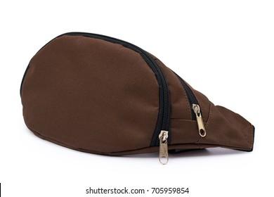 waist bag isolated on white background