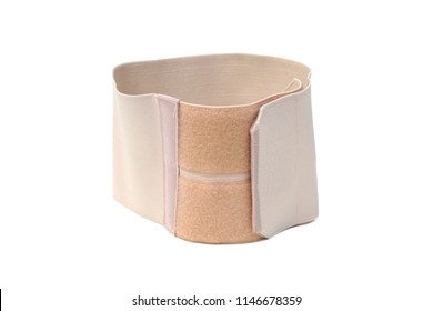 Waist slimming belt isolated on white