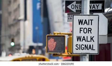 Wait for walk