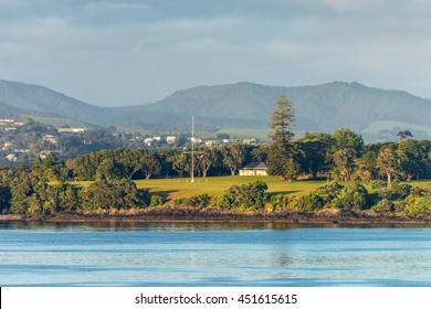 The Waitangi Treaty Grounds is the place where Maori chiefs first signed their accord with the British Crown in 1840 - Te Tiriti of Waitangi, New Zealand?? founding document.
