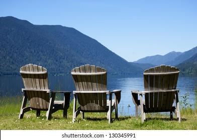 Waiting at the Lake