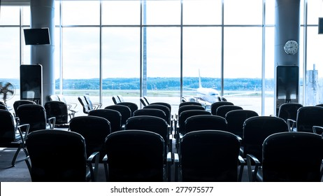 Waiting lounge in airport