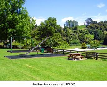Waitomo Picnic Area and Playground, New Zealand