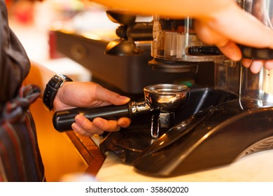 waitress and waiter are serving