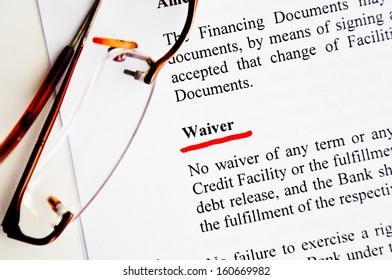 waiver definition