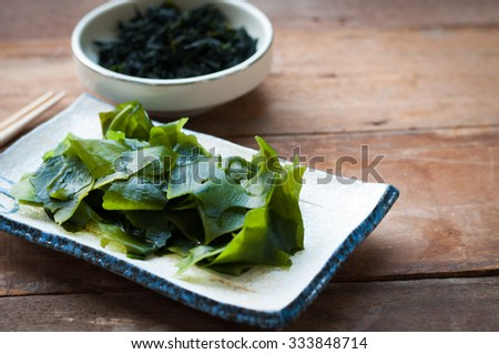 Wakame seaweed/Japanese food