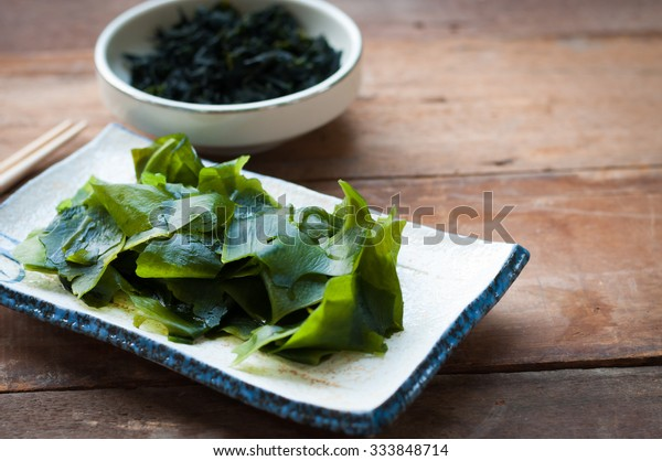 Wakame seaweed/Japanese food